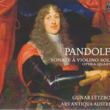 PANDOLFI: Sonate a violino solo solo