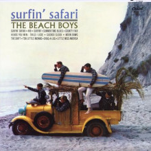 BEACH BOYS :  Surfin' Safari (mono)
