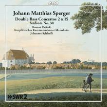 SPERGER JOHANNES MATTHIAS: Opere orchestrali