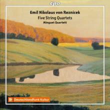 REZNICEK: Quartetti per archi N. 1 - 3 - 4 - 5 - 6