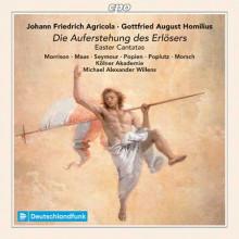 Agricola e Homilius: Opere sacre
