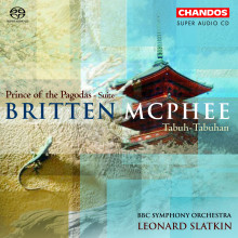 BRITTEN - McPHEE: 'The Prince of the Pagod