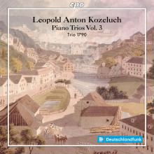 KOZELUCH: Integrale dei trii per archi e pianoforte - Vol.3