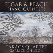 ELGAR & BEACH: Quintetti per piano