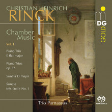CHRISTIAN HEINRICH RINCK: Musica da camera - Vol.1 (Trii per piano)