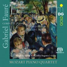 FAURE: Integrale dei quintetti con piano