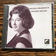 GIGLIOLA FRAZZONI in concerto 1954 - 63
