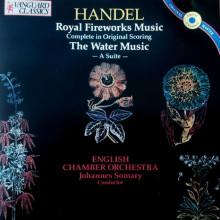 HANDEL: Royal Fireworks Music - The Water Music