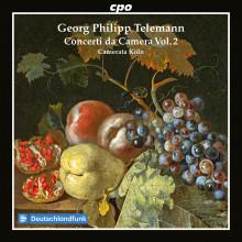 TELEMANN: Concerti da camera - Vol.2