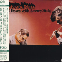 BILL EVANS with JEREMY STEIG: What's new