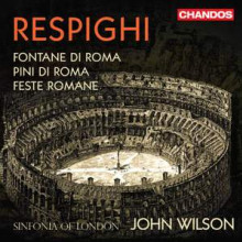 RESPIGHI: Fontane di Roma - Pini di Roma - Feste Romane