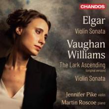 ELGAR & VAUGHAN WILLIAMS: Sonate per violino e piano