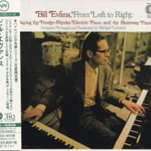 BILL EVANS: From Left to Right