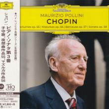 CHOPIN:  Nocturnes op. 55 / Mazurkas op. 56 / Berceuse op. 57 / Sonata op. 58
