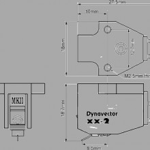 Fonorivelatore Dynavector DV - XX - 2 MK2 Moving coil a bassa uscita