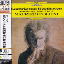 BEETHOVEN: Sonate per piano Op.109 - 110 - 111