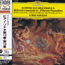 BEETHOVEN: Sonata per piano 'Trauermarsch' Op.26 & Op.31 N.1