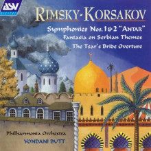 RIMSKY - KORSAKOV:Sinfonie N.1 e 2