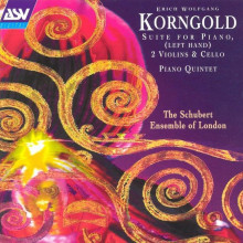KORNGOLD: Quintetto per piano - Op.15