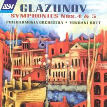 GLAZUNOV: Sinfonie Nø4 & 5