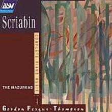 SCRIABIN: Piano Music Vol.4 - Mazurkas