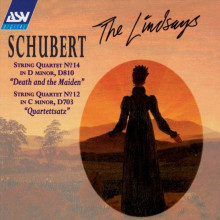 "SCHUBERT: Quartetti per archi N. 14 ""Death and the Maiden"" & 12 ""Quartettsatz"""