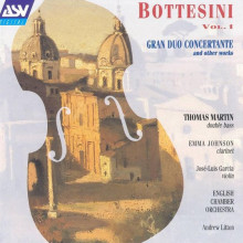 BOTTESINI: Gran duo concertante etc