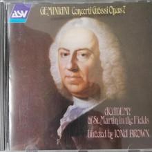 GEMINIANI: Concerti Grossi Op.7