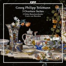 TELEMANN: 3 Overture Suites