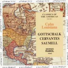 CERVANTES - SAUMELL - GOTTSCHALK.: Musica americana per piano
