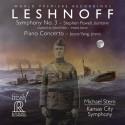 LESHNOFF: Sinfonia n. 3 e Concerto n. 1 per pianoforte e orchestra
