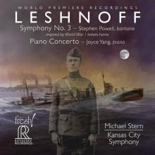 LESHNOFF: Sinfonia N.3 - Piano Concerto N.1