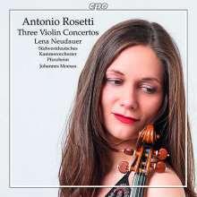 ROSETTI: Tre Concerti per violino