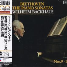 BEETHOVEN: Sonate n. 9, 10, 11 e 12 per pianoforte