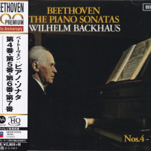 BEETHOVEN: Sonate n. 4, 5, 6 e 7 per pianoforte