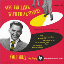 FRANK SINATRA: Sing and dance with Frank Sinatra (mono)