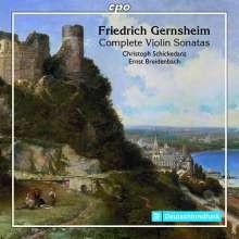 GERNSHEIM FRIEDERICH: Opere per violino e pianoforte