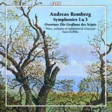ROMBERG ANDREAS: Sinfonie 1 & 3 - Overture Op.54 'Die Großmut des Scipio'