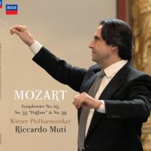 """MOZART: Sinfonie N.25 - N.35 """"Haffner"""" - & N.39"""
