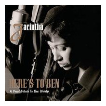 JACINTHA: Here's to Ben - A vocal Tribute to Ben Webster  (One - Step 180g - 45 RPM - Limited Numbered Edition)