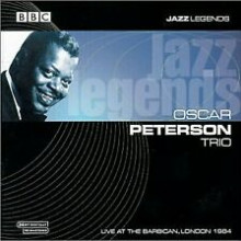 OSCAR PETERSON TRIO: Live at The Barbican