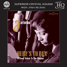 JACINTHA: Here' to Ben - A vocal tribute to Ben Webster