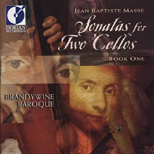 JEAN - BAPTISTE MASSE.: Sonate per 2 violoncelli