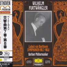 BEETHOVEN: Sinfonie n. 7 e 8