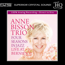 ANNE BISSON: Four Seasons in Jazz - Live at Bernie's - UHQCD