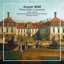 JOSEPH WOLFL: Tre concerti per piano