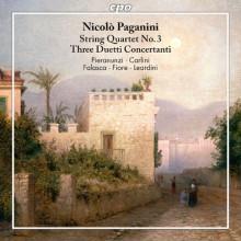 PAGANINI: Quartetto n. 3 e Tre Duetti concertanti per violino e fagotto