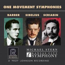 BARBER - SIBELIUS - SCRIABIN: Sinfonie