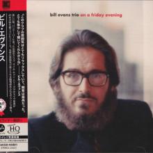 BILL EVANS TRIO: on a friday evening