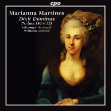MARIANNA MARTINES: Dixit Dominus - Salmi 110 & 115